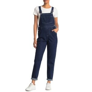 We Wore What Basic Dark Wash Denim Overalls